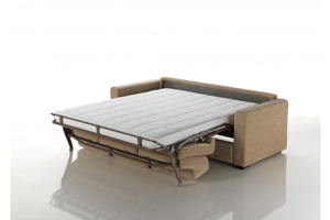 canapé convertible couchage quotidien avec méridienne