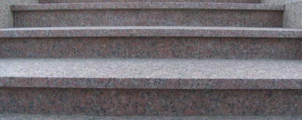 marches d'escalier en granit